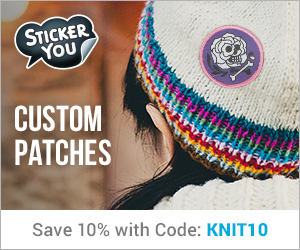 Stickeryou custom knitting stickers promotion