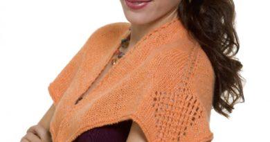cashmere queen shawlette featured