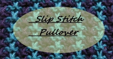 featured slip stitch pullover