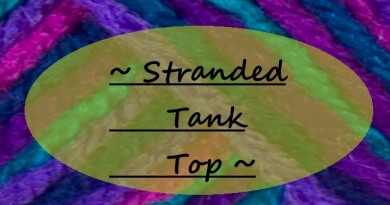Stranded tank top