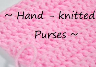 Hand Knitted Purses