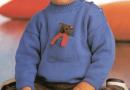 Pullover, Cap, Mittens & Teddy Bear