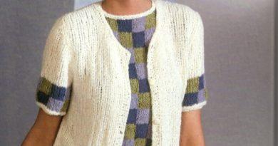 retro sweater set