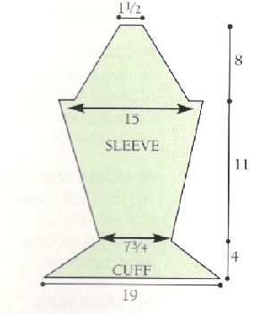 sleeve and cuff diagram