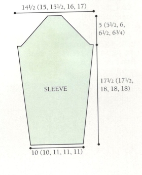 sleeve pullover diagram