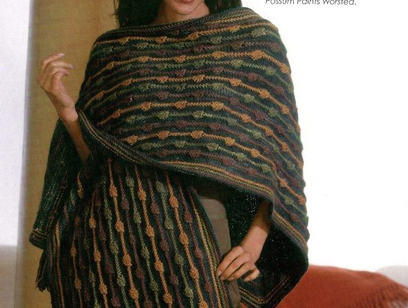 string of beads shawl