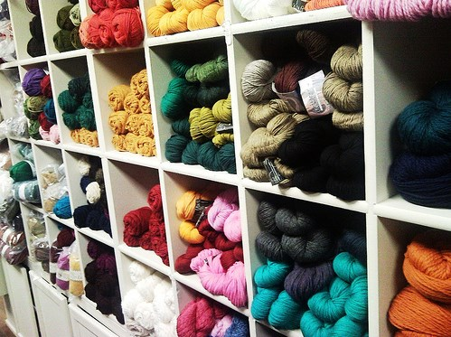 yarn shelf